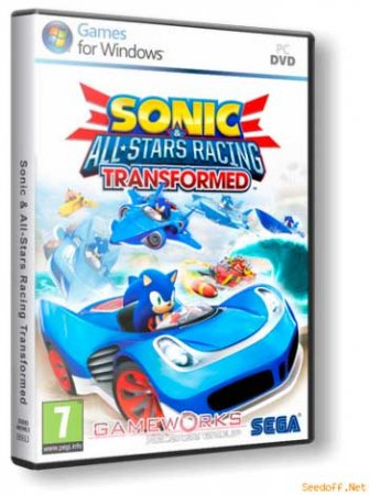 Sonic And All-Stars Racing Transformed [2013, ENG/ENG, Repack]