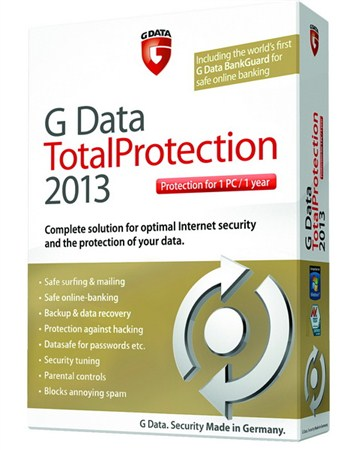 G Data TotalProtection 2013 v 23.1.0.2 Final (Rəsmi Rus Versiyası)